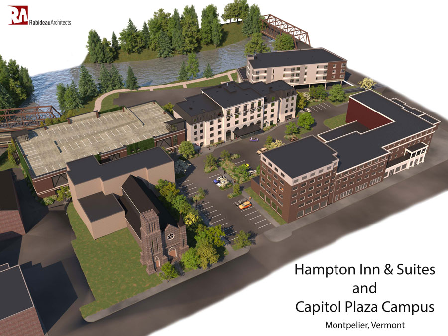 New Hampton Inn and Suites