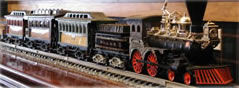 Come in and marvel at our unique model trains as they circle the room!